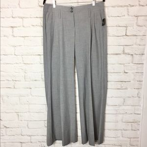 The Limited Cassidy Fit NWT Grey wide leg trouser.